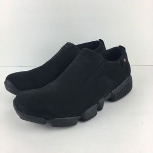 Men's Aetrex ModPod Slip On Shoes in Black Sz 9.5